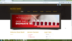 blood bank management