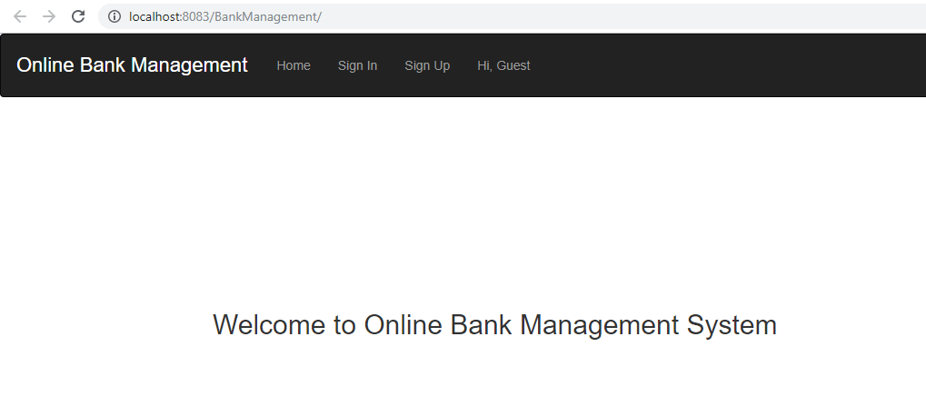 Bank management system project in java