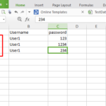 Read data from excel in selenium C#