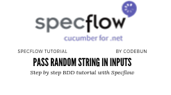 random string in input field using selenium C#